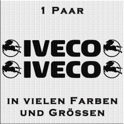 Iveco mit Logo Aufkleber 1 Paar. Jetzt bestellen! ✅