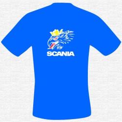 T-Shirt bedruckt mit Scania mit Greif - 3 farbig