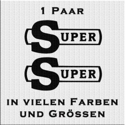 Old School Super Schriftzug. Jetzt bestellen! ✅