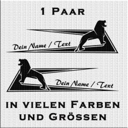 Zacken für Fahrerhaus mit MAN und Löwe mit eigenem Text.Jetzt bestellen!✅