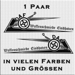 Zacken für Fahrerhaus DAF und Waffenschmiede Eindhoven.Jetzt bestellen!✅
