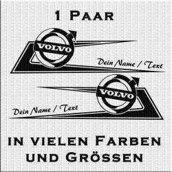 Zacken für Volvo Variante 2 mit deinem eigenem Text.Jetzt bestellen!✅