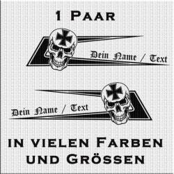 Zacken für dein Fahrerhaus Totenkopf Variante 2 und deinem eigenem Namen.Jetzt bestellen!✅