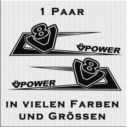 Zacken für dein Fahrerhaus mit V8 und V8 Power Variante 2. Jetzt bestellen!✅