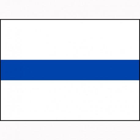 Hier ist deine blaue Heckschürze zum selbst gestalten. ✅