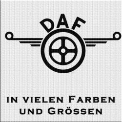 DAF Logo Aufkleber 1 Stück. Jetzt bestellen!✅