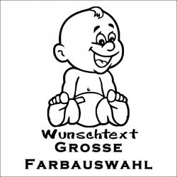 Babyaufkleber MSC 025. Jetzt bestellen!✅
