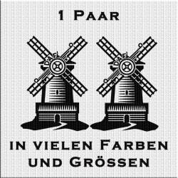 DAF mit Windmühle Aufkleber Paar Variante 3. Jetzt bestellen!✅