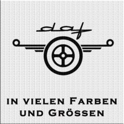 DAF Logo Variante 2 Aufkleber 1 Stück. Jetzt bestellen!✅