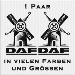 DAF mit Windmühle Aufkleber Jetzt bestellen!✅