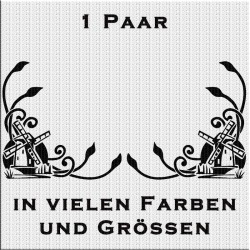 DAF Fensterdekor Windmühle Paar. Jetzt bestellen!✅