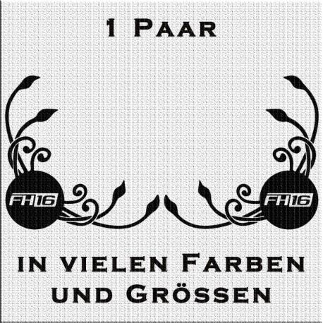 Volvo FH16 Aufkleber Fensterdekor Klassik - Paar. Jetzt bestellen!✅