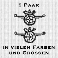 DAF Logo Variante 4 Aufkleber Paar. Jetzt bestellen!✅