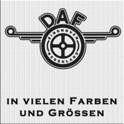 DAF Logo mit Eindhoven Nederland Aufkleber 1 Stück. Jetzt bestellen!✅