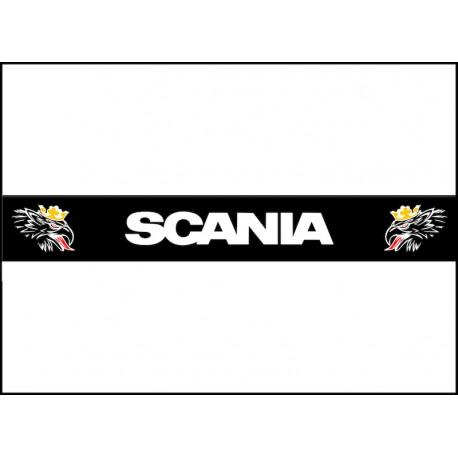 Scania Heckschürze mehrfarbig mit bösem Greif. Jetzt gleich bestellen! ✅