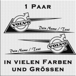 Zacken für Volvo Fahrerhaus Variante 1 mit eigenem Text .Jetzt bestellen!✅