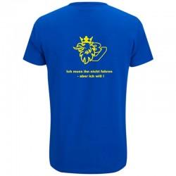 T-Shirt bedruckt mit Scania V8 Logo und Spruch