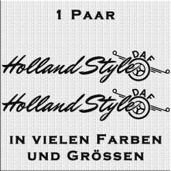 Holland Style DAF Aufkleber Variante 1 Aufkleber Paar. Jetzt bestellen!✅
