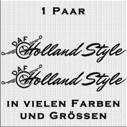 Holland Style DAF Aufkleber Variante 2 Aufkleber Paar. Jetzt bestellen!✅