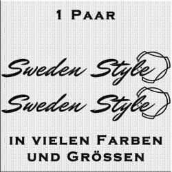 Sweden Style Scania Aufkleber Variante 2 Aufkleber Paar. Jetzt bestellen!✅