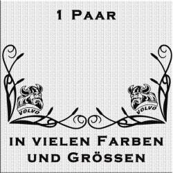 Fensterdekor Volvo Wikinger Aufkleber Paar.Jetzt bestellen!✅