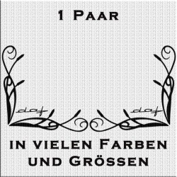Fensterdekor new DAF Aufkleber Paar.Jetzt bestellen!✅