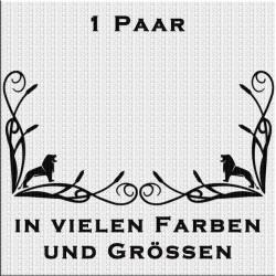 Fensterdekor MAN Löwe Aufkleber Paar.Jetzt bestellen!✅