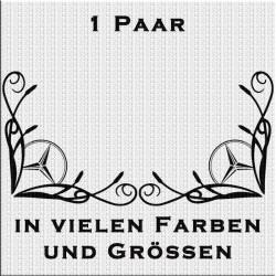 Fensterdekor Mercedesstern Aufkleber .Jetzt bestellen!✅
