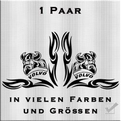 Fensterdekor Volvo Wikinger 1 Paar.Jetzt bestellen!✅