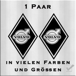 Raute Aufkleber für Volvo.Jetzt bestellen!✅