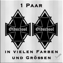 Raute Aufkleber Eisernes Kreuz.Jetzt bestellen!✅