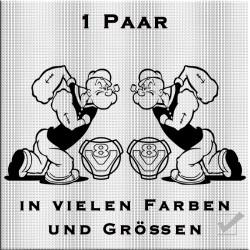 Popeye mit V8 Aufkleber 1 Paar.Jetzt bestellen!✅