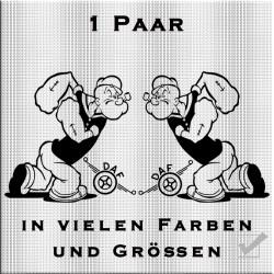 Popeye mit DAF Aufkleber 1 Paar.Jetzt bestellen!✅