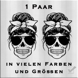 Totenkopf Woman Aufkleber Paar.Jetzt bestellen!✅