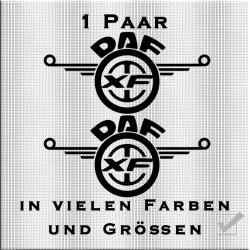 DAF Logo Aufkleber Paar Variante 3. Jetzt bestellen!✅