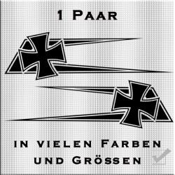 Zacken für dein Fahrerhaus Eisernem Kreuz.Jetzt bestellen!✅