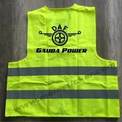 Warnweste mit DAF Gauda Power. Jetzt bestellen!