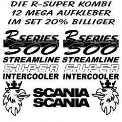 R-Super Kombi - 12 Aufkleber im Set um 20% billiger. Jetzt bestellen!