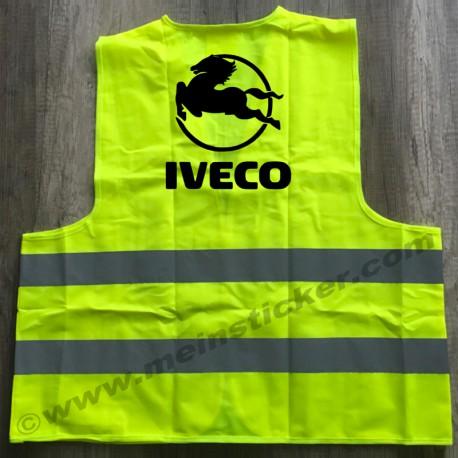 Tolle Warnweste für den stolzen Iveco Fahrer. Jetzt preiswert bestellen!