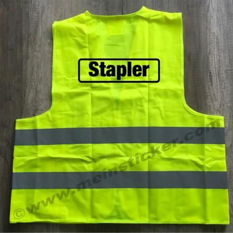 Stapler - Warnweste. Jetzt bestellen!