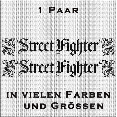 SCANIA Street Fighter Aufkleber-1Paar. Jetzt bestellen! ✅