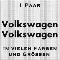 Volkswagen Aufkleber-1 Paar. Jetzt gleich bestellen! ✅