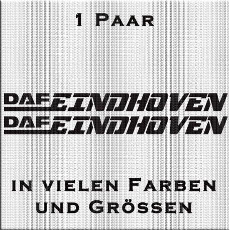 Spezial DAF Eindhoven Aufkleber. Jetzt bestellen ✅