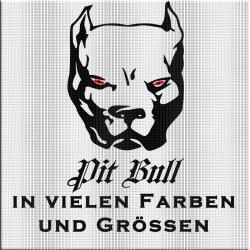 Pit Bull Aufkleber jetzt bestellen! ✅