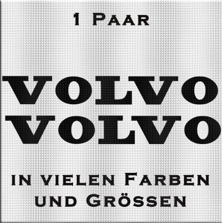 Volvo Schriftzug Aufkleber. Jetzt bestellen ✅