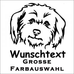 Hundeaufkleber Malteser  Jetzt bestellen!✅