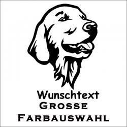 Hundeaufkleber Golden Retriever jetzt bestellen!✅
