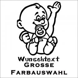 Babyaufkleber jetzt bestellen!✅