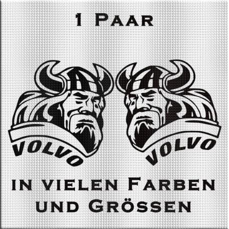 VOLVO Wikinger Aufkleber Paar. Jetzt bestellen! ✅