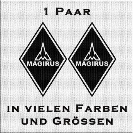 Raute Aufkleber Paar Magirus Variante 3 jetzt bestellen! ✅